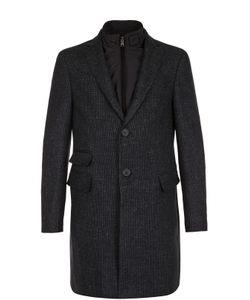 Pal Zileri | Однобортное Пальто Из Смеси Шерсти И Шелка Со Льном С Подстежкой