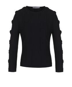 Alexander McQueen | Облегающий Пуловер С Декоративной Отделкой Рукавов