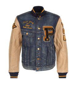 Polo Ralph Lauren | Джинсовая Куртка На Пуговицах С Кожаными Рукавами