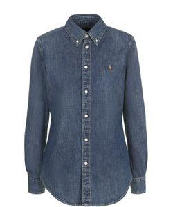 Polo Ralph Lauren | Приталенная Джинсовая Блуза С Логотипом Бренда