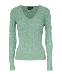 Polo Ralph Lauren | Кашемировый Приталенный Пуловер Фактурной Вязки