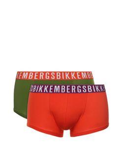 Bikkembergs   Комплект Из Двух Хлопковых Боксеров С Широкой Резинкой Dirk
