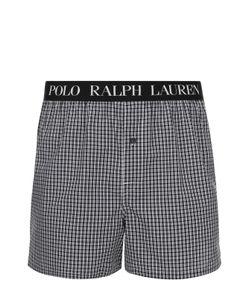 Ralph Lauren | Хлопковые Боксеры Свободного Кроя С Широкой Резинкой
