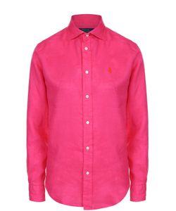 Polo Ralph Lauren | Льняная Блуза С Вышитым Логотипом Бренда