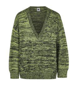 Missoni | Шерстяной Пуловер Свободного Кроя С V-Образным Вырезом M