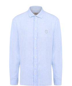 Armani Collezioni | Льняная Рубашка С Воротником Акула