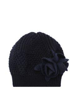 Catya | Вязаный Берет Из Шерсти С Текстильным Декором
