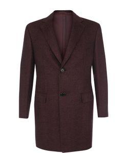 Brioni | Однобортное Пальто Из Смеси Шерсти И Кашемира