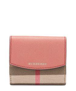 Burberry | Бумажник Из Кожи И Текстиля В Клетку House Check