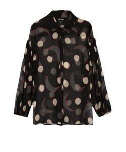 Giorgio Armani | Полупрозрачная Шелковая Блуза С Принтом