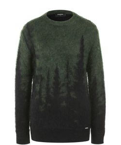 Dsquared2   Вязаный Пуловер Из Смеси Мохера И Шерсти