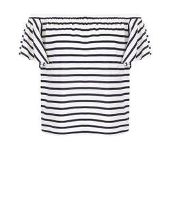 Polo Ralph Lauren | Топ В Полоску С Открытыми Плечами