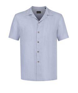 Giorgio Armani | Льняная Рубашка С Короткими Рукавами