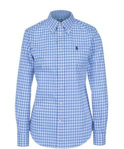 Polo Ralph Lauren | Приталенная Хлопковая Блуза В Клетку