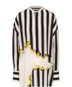 Haider Ackermann | Шелковая Блуза Свободного Кроя В Полоску