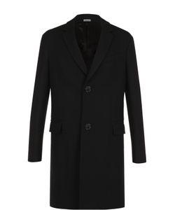 Lanvin | Шерстяное Однобортное Пальто