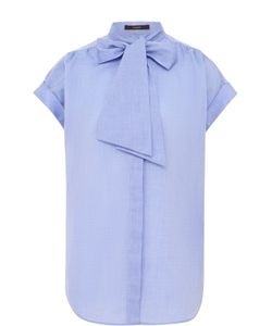 Windsor | Блуза С Коротким Рукавом И Воротником Аскот