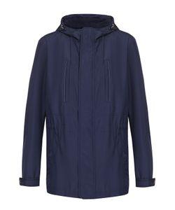 Pal Zileri | Удлиненная Куртка На Молнии С Капюшоном