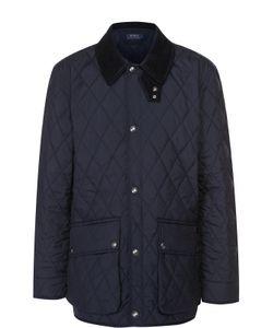 Polo Ralph Lauren | Удлиненная Стеганая Куртка На Кнопках