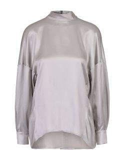 Escada | Шелковая Блуза Свободного Кроя Со Спущенным Рукавом