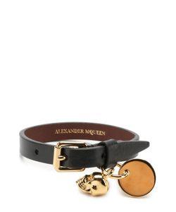Alexander McQueen | Кожаный Браслет С Подвесками