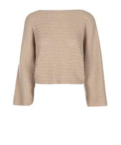 Ralph Lauren   Кашемировый Укороченный Пуловер С Вырезом-Лодочка
