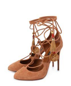 Dolce & Gabbana | Замшевые Туфли Coco С Подвесками