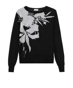 Dries Van Noten | Пуловер Прямого Кроя С Контрастным Принтом