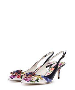 Dolce & Gabbana | Туфли С Принтом И Брошами