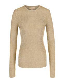 Michael Kors | Пуловер Фактурной Вязки С Круглым Вырезом