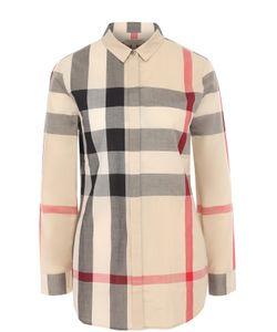 Burberry | Блуза Прямого Кроя В Клетку