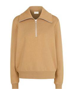 Dries Van Noten | Хлопковый Пуловер С Воротником На Молнии