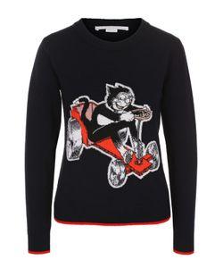 Stella Mccartney | Пуловер С Круглым Вырезом И Принтом
