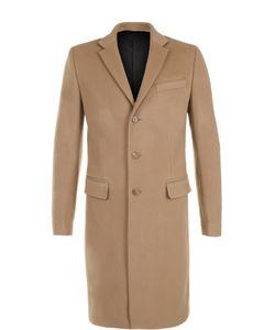 Givenchy | Однобортное Пальто Из Смеси Шерсти И Кашемира