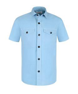 Stone Island | Хлопковая Рубашка С Короткими Рукавами