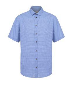 Armani Collezioni | Хлопковая Рубашка С Короткими Рукавами И Воротником Кент