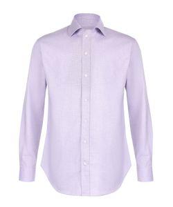 Armani Collezioni   Хлопковая Рубашка С Воротником Кент