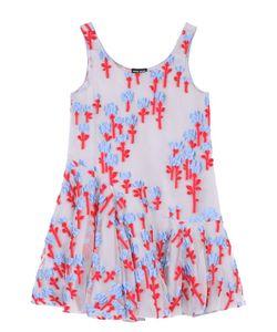 Giorgio Armani | Мини-Платье Свободного Кроя С Цветочной Отделкой