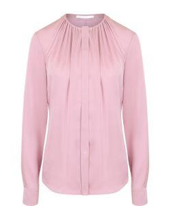 BOSS | Блуза С Круглым Вырезом И Драпировкой