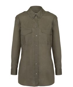 Equipment | Блуза Прямого Кроя С Накладными Карманами