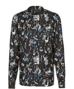 Dolce & Gabbana | Шелковая Домашняя Сорочка С Принтом