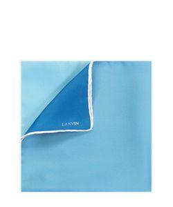 Lanvin | Шелковый Платок С Контрастным Кантом