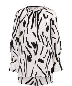Diane Von Furstenberg | Шелковая Блуза Свободного Кроя С Принтом