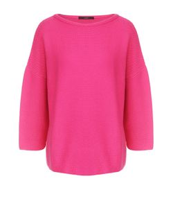 Windsor | Хлопковый Пуловер С Укороченным Рукавом И Круглым Вырезом