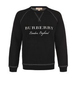 Burberry | Джемпер Из Смеси Шерсти И Кашемира С Контрастной Отделкой