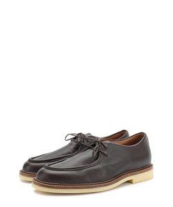 Loro Piana | Кожаные Ботинки На Шнуровке