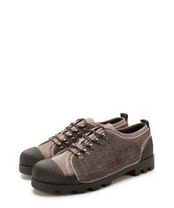 Giorgio Armani | Замшевые Ботинки На Шнуровке