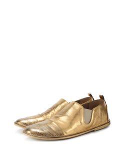 Marsell | Ботинки Из Металлизированной Кожи С Эффектом Состаривания