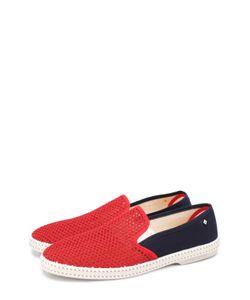 Rivieras Leisure Shoes | Плетеные Текстильные Эспадрильи