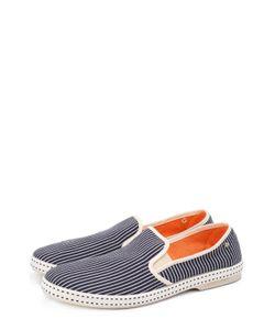 Rivieras Leisure Shoes | Текстильные Эспадрильи В Контрастную Полоску